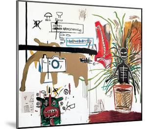 Wicker, 1984 by Jean-Michel Basquiat
