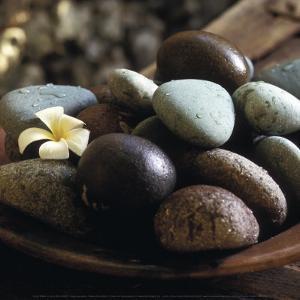 Bowl with Pebbles by Jean-Michel Ruiz