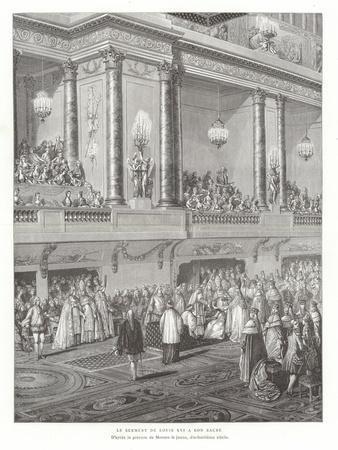 The Coronation Oath of King Louis XVI of France, 1775