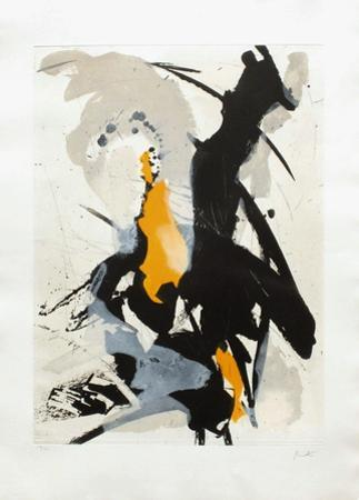 Composition Abstraite III by Jean Miotte