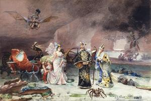 A Fairy Tale by Jean or Jehan Georges Vibert