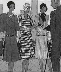 Vogue - August 1929 by Jean Pag?s