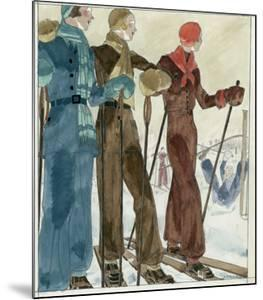 Vogue - December 1930 by Jean Pagès
