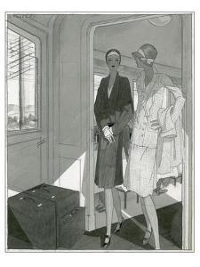 Vogue - June 1929 by Jean Pagès