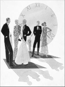 Vogue - June 1930 by Jean Pagès