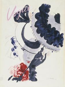 Vogue - June 1935 by Jean Pagès