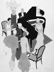 Vogue - May 1930 by Jean Pagès