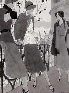 Vogue - November 1930 by Jean Pagès