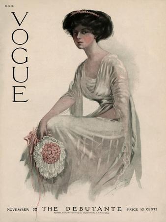 Vogue Cover - November 1909