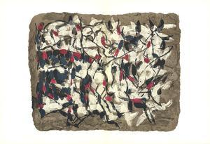 Composition IV-160 by Jean-Paul Riopelle