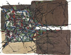 Composition VIII-160 by Jean-Paul Riopelle