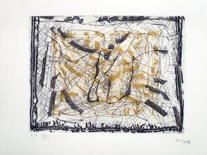Sans titre 4 by Jean-Paul Riopelle