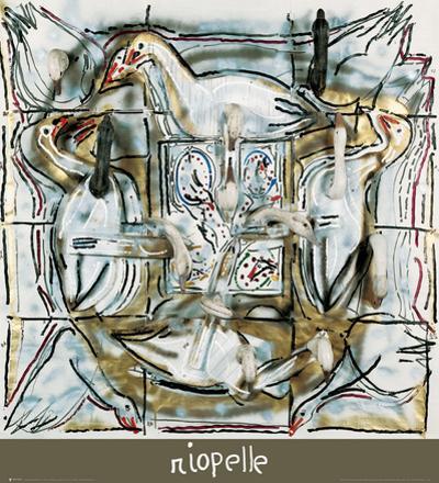 Soufle d'Oies by Jean-Paul Riopelle