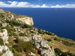 Cliff of Dingli by Jean-pierre Lescourret