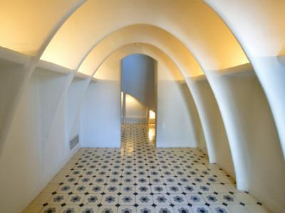 Interior of Casa Batllo by Antoni Gaudi