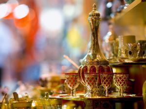 Tea Set for Sale at Grand Bazaar by Jean-pierre Lescourret
