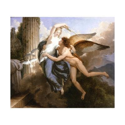 The Reunion of Cupid and Psyche, 1789-1792