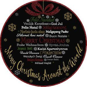 JP3627-Merry Christmas-Glitter by Jean Plout