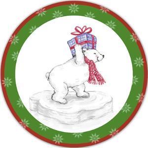 JP3655-Christmas Bear by Jean Plout