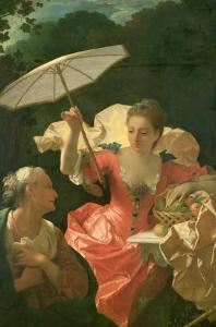 Vertumnus and Pomona by Jean Ranc