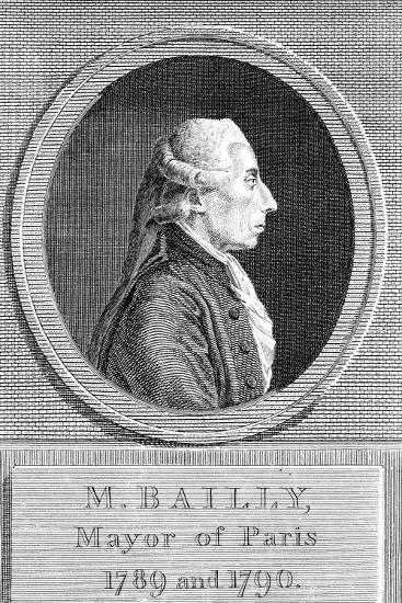 Jean Sylvain Bailly (1736-179), French Astronomer, Writer and Politician--Giclee Print