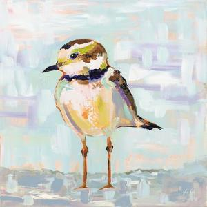 Coastal Plover II Neutral by Jeanette Vertentes