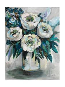 White Roses Bouquet by Jeanette Vertentes