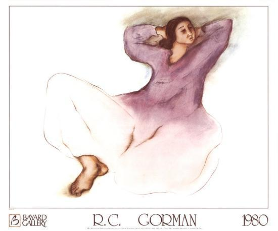 e65c7e5f8cb Jeanette Art Print by R. C. Gorman