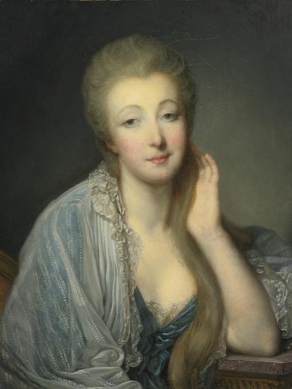 Jeanne Bécu, Comtesse Du Barry (1743-179)-Jean-Baptiste Greuze-Giclee Print