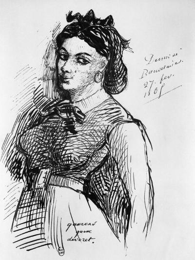 Jeanne Duval, 1865-Charles Pierre Baudelaire-Giclee Print