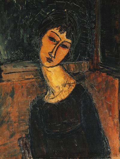Jeanne Hebuterne, C.1916-17-Amedeo Modigliani-Giclee Print