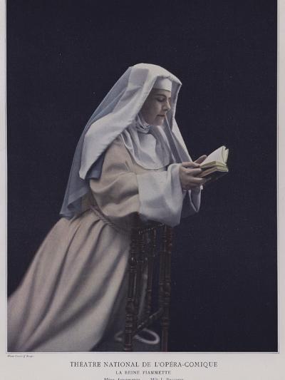 Jeanne Passama as Agramanta in La Reine Fiammette--Photographic Print