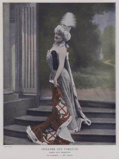 Jeanne Saulier, French Actress, as Commerce--Giclee Print