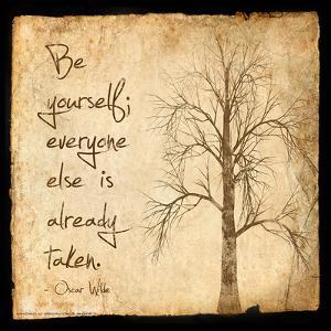 Be Yourself - Oscar Wilde Classic Quote by Jeanne Stevenson