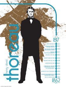 Henry David Thoreau by Jeanne Stevenson