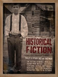 Historical Fiction Literary Genre by Jeanne Stevenson