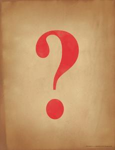 Question Mark by Jeanne Stevenson