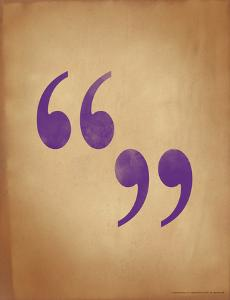 Quote Marks by Jeanne Stevenson