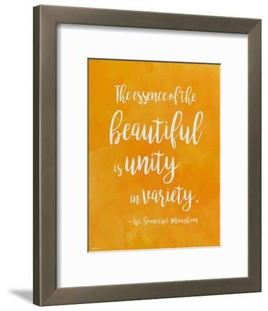 Unity in Diversity - W. Somerset Maugham Diversity Quote Poster