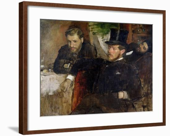 Jeantaud, Linet and Laine, 1871-Edgar Degas-Framed Giclee Print