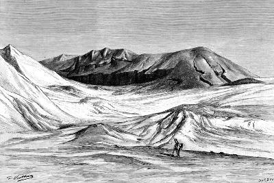 Jebel Khanfusa, the Sahara Desert, North Africa, 1895-Barbant-Giclee Print