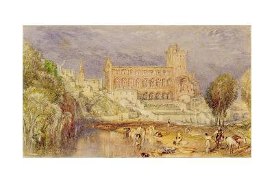 Jedburgh Abbey, C.1832-J^ M^ W^ Turner-Giclee Print