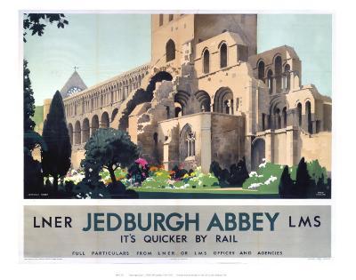 Jedburgh Abbey--Art Print