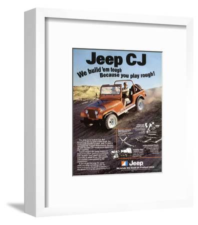 Jeep CJ - We Build 'Em Tough