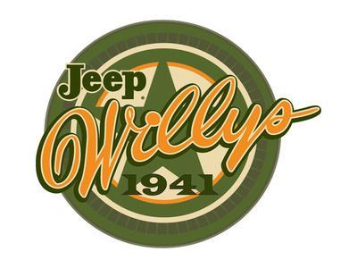 Jeep Willys 1941--Art Print