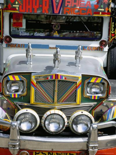 Jeepney, Manila, Island of Luzon, Philippines, Southeast Asia-Bruno Barbier-Photographic Print