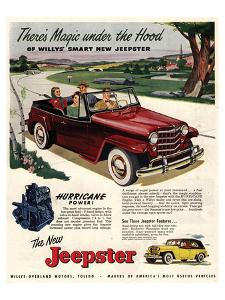 Jeepster Magic Under the Hood