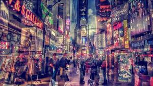 New York abstract II by Jefd