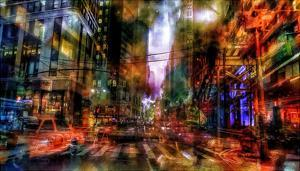 New York abstract by Jefd
