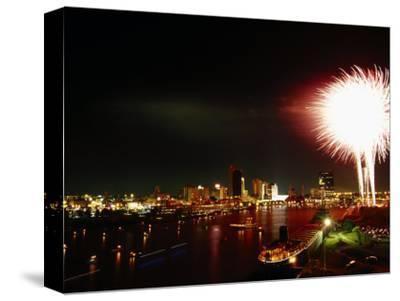 Labor Day Festival Fireworks, Maumee River